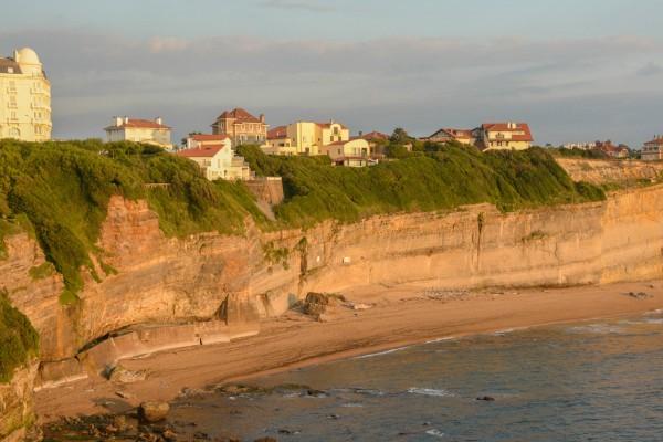 Falaise Biarritz