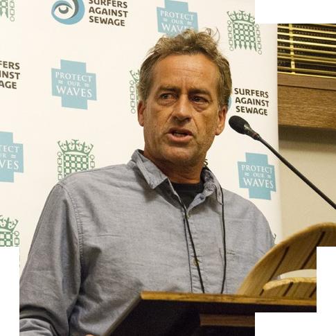 Tom Curren, fondateur de Surfrider Foundation Europe