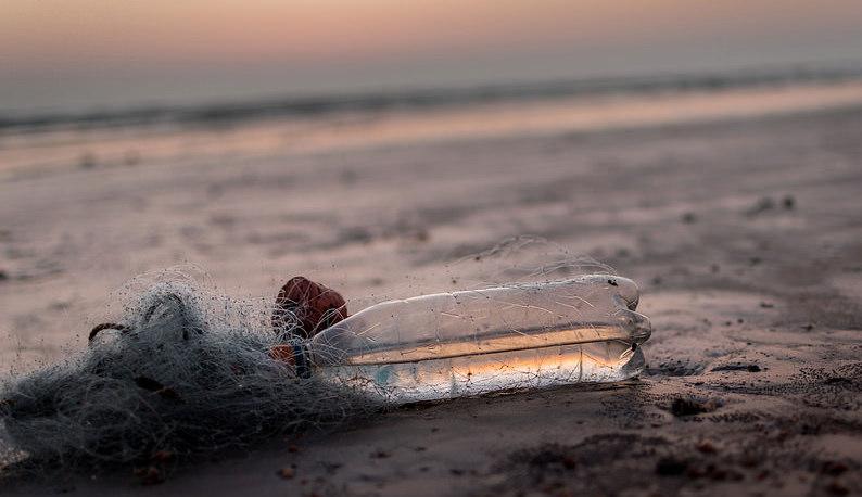 Bouteille plastique