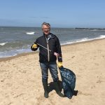 joao machar aguiado beach cleanup