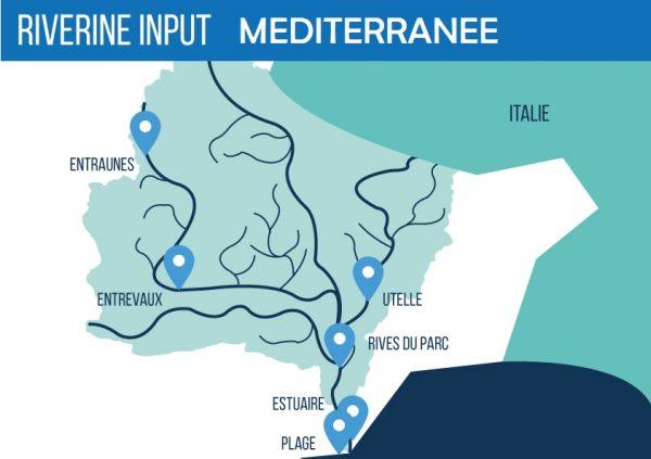 Carte Bassin Versant Med