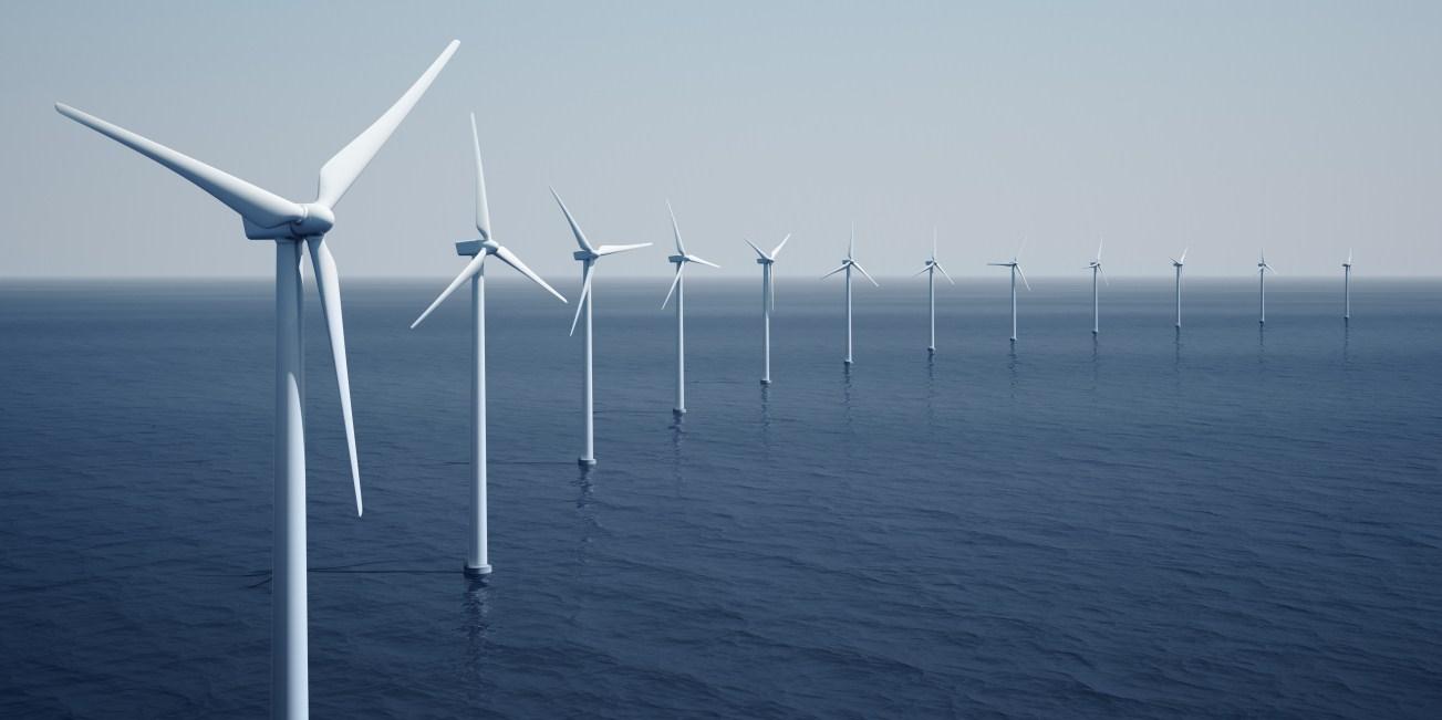 éoliennes mer